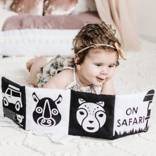 On Safari – Baby's first soft book
