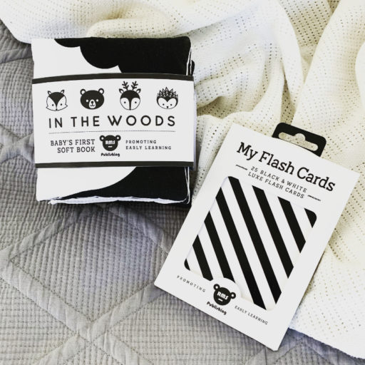 In The Woods & Newborn Flash Card Gift Set
